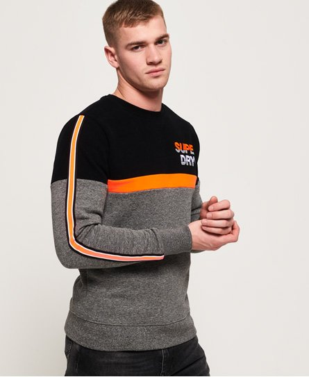 Superdry Applique Oversized Nu Lad sweatshirt met ronde hals