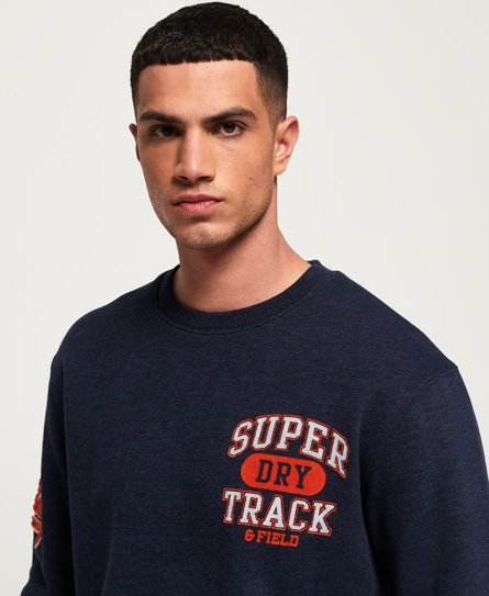 Superdry Split Track Oversized Sweatshirt