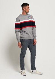 Superdry Applique Weekend Cut & Sew Sweatshirt
