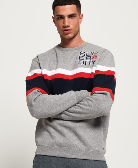 Superdry Applique Weekend Cut & Sew Sweatshirt thumbnail 1