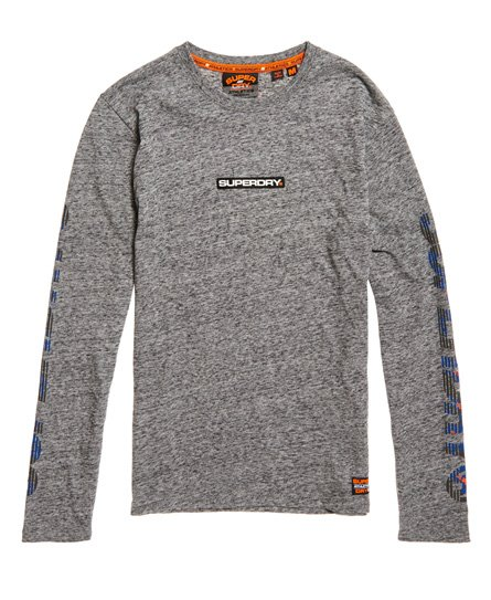 Superdry Trophy Langarm-T-Shirt mit Tarnmuster