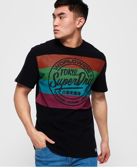 Superdry Ticket Type Oversized Fit T-skjorte