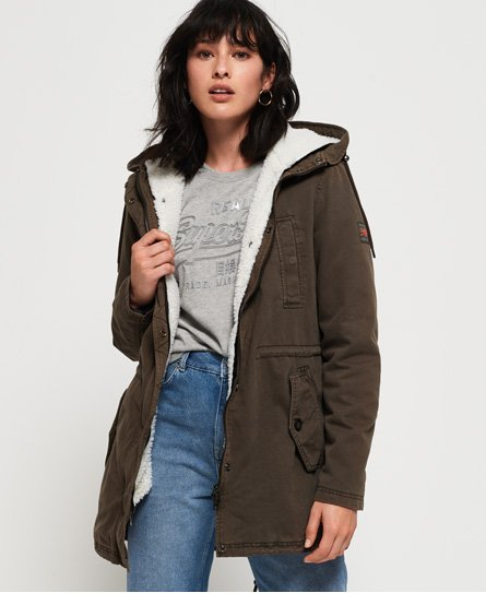 Superdry Giacca Rookie Sherpa Multi