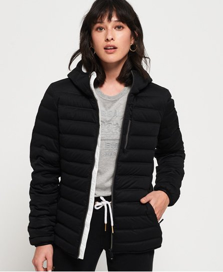 Superdry Contak Stretch-Daunenjacke