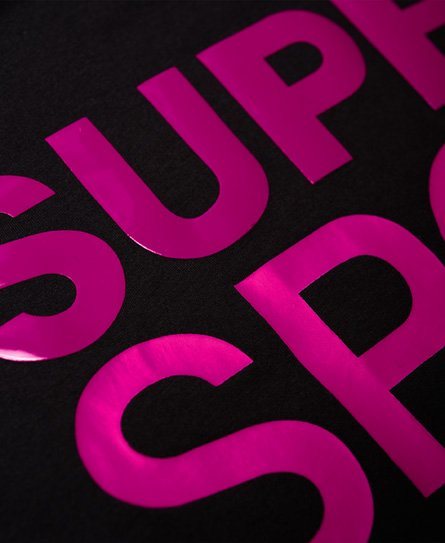 Superdry T-shirt boyfriend ample