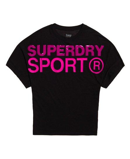 Superdry Løs Active boyfriend T-shirt