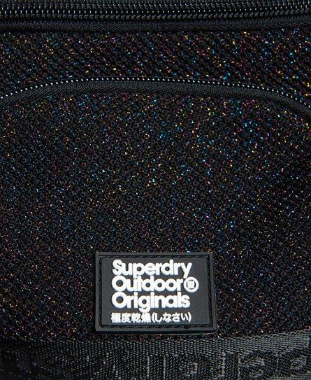 Superdry Sac banane en tricot métallique