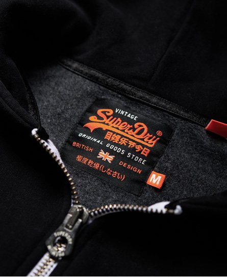 Superdry Vintage Logo Camo-hettegenser med glidelås
