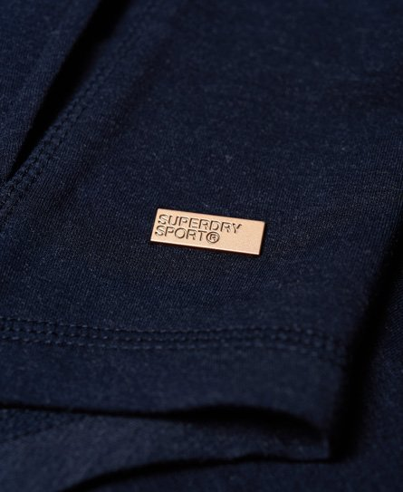 Superdry Active Studio Luxe hoodie met rits