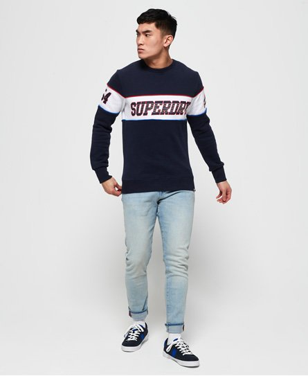 Superdry Retro sweatshirt med stribedesign