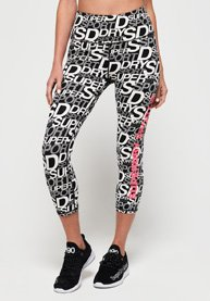 Superdry Legging coupe courte SD Core Sport Essentials