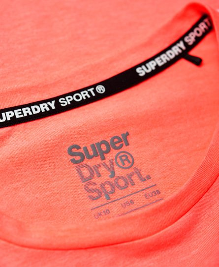 Superdry Core Crop Branded T-Shirt