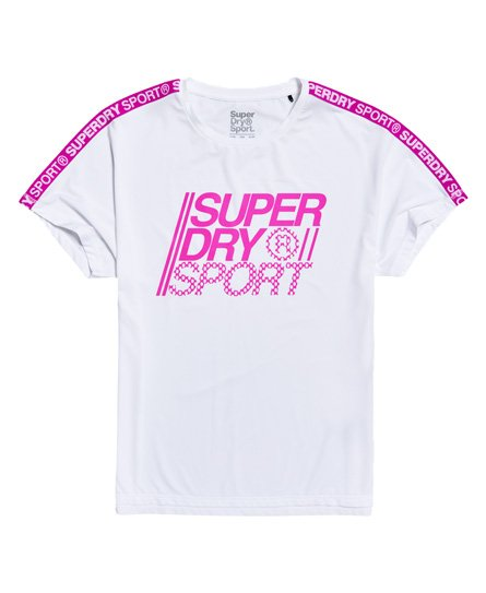 Superdry Locker geschnittenes Core T-Shirt
