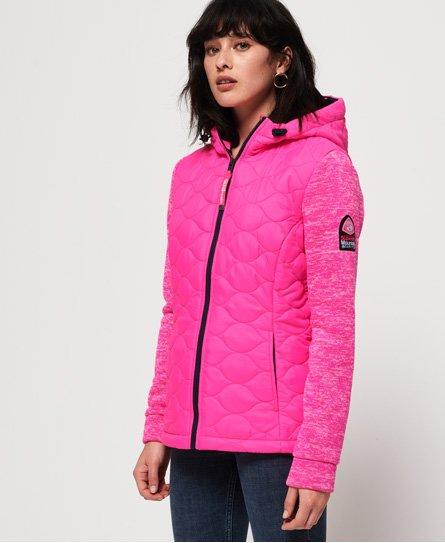 Superdry SD Storm Quilted Hybrid Jacket