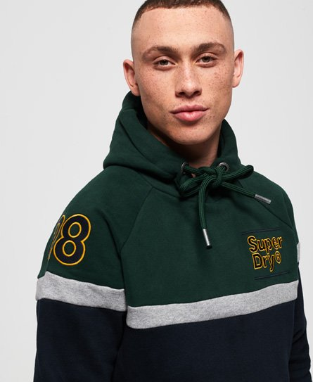 Superdry Applique Colour Block Hoodie