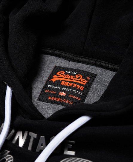 Superdry Vintage Logo Metallic Hoodie