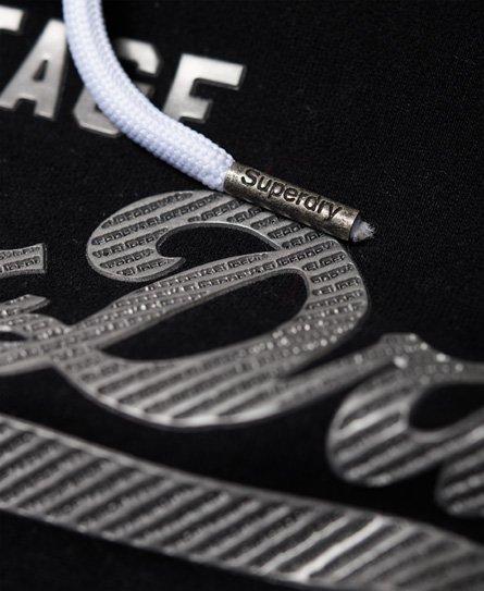 Superdry Sweat à capuche et logo Vintage métallique