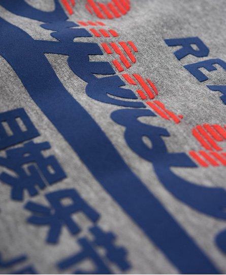 Superdry T-shirt tricolore à logo Vintage