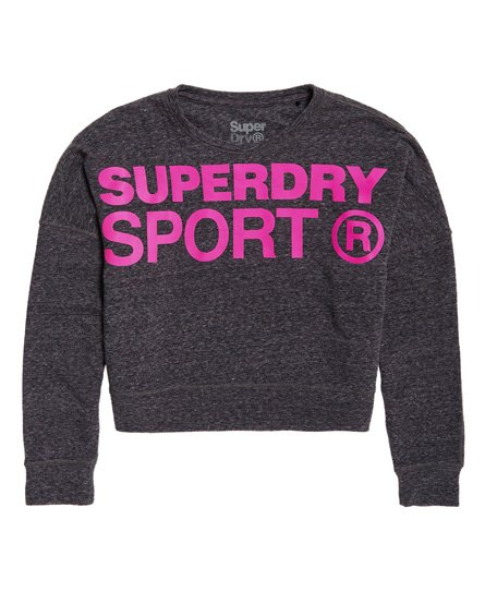 Superdry Active Batwing Crop Sweatshirt