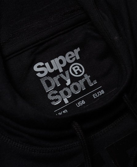 Superdry Felpa con cappuccio e maniche a pipistrello Active