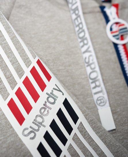Superdry Athletico hættetrøje med lynlås