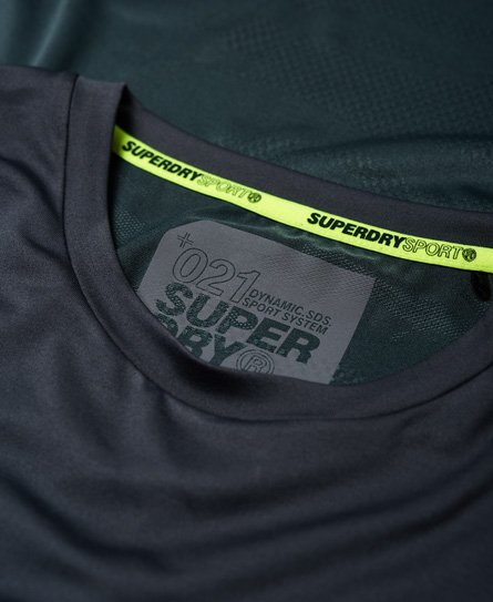 Superdry Active Camo Jacquard T-Shirt