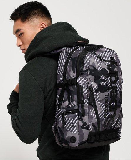 Superdry Sac à dos camouflage avec logo Tarp