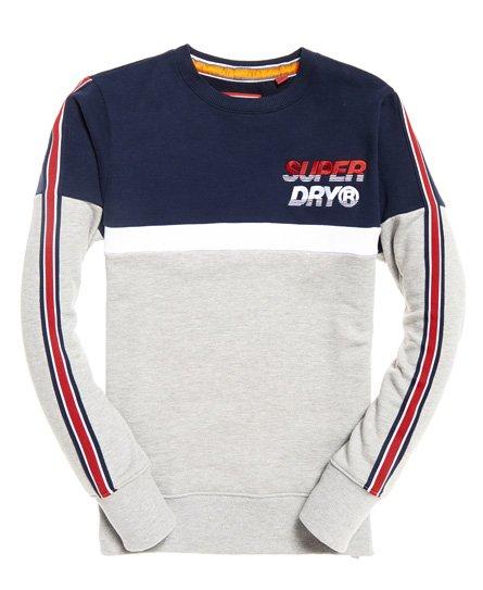 Superdry Sweat ras du cou oversize avec logo appliqué Nu Lad