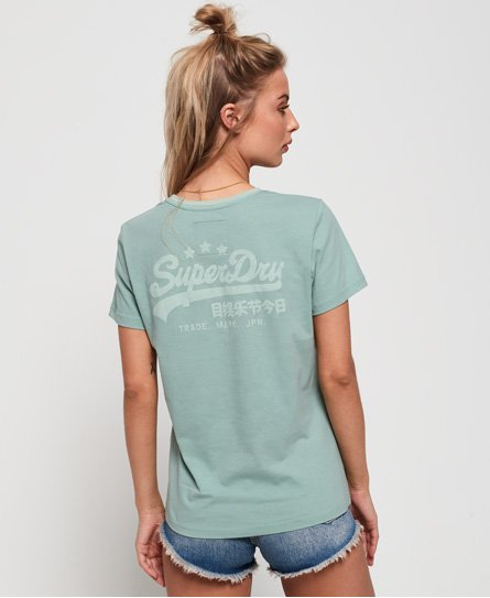 Superdry T-shirt Heritage con logo Vintage
