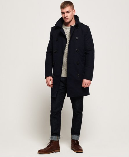 Superdry Trench Summer Rogue Vestes pour Homme