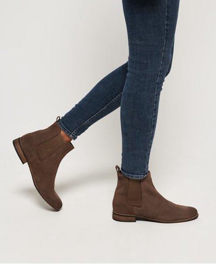 Superdry Boots Chelsea Millie-Lou en daim