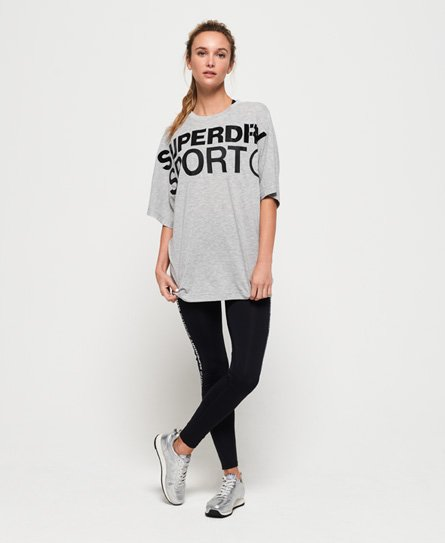 Superdry Locker geschnittenes Active Boyfriend T-Shirt