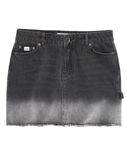 Superdry Denim Micro Mini Skirt