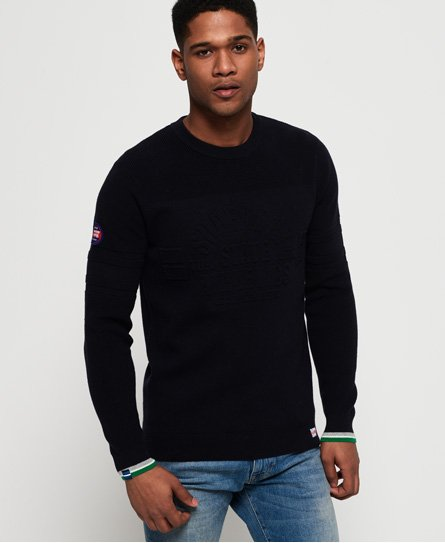 Superdry Nu Embossed Logo Crew Jumper thumbnail 1