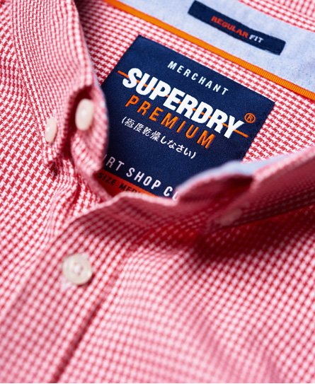 Superdry Lyhythihainen Premium University Oxford -paita
