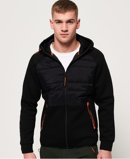Superdry Gym Tech Stretch Hybrid Hoodie