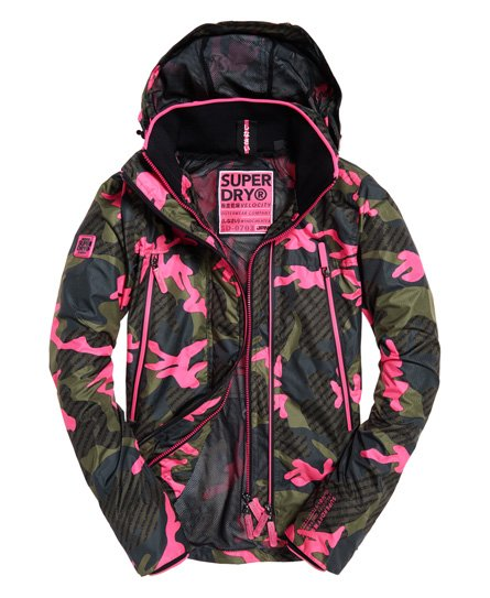 Superdry Tech Print Velocity SD-Windcheater