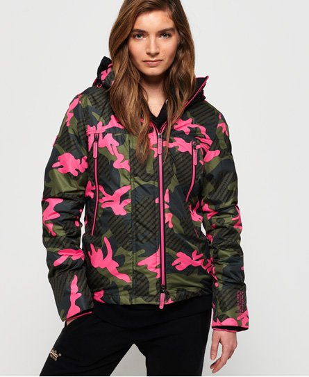 Superdry Funktionel Velocity SD-Windcheater med print