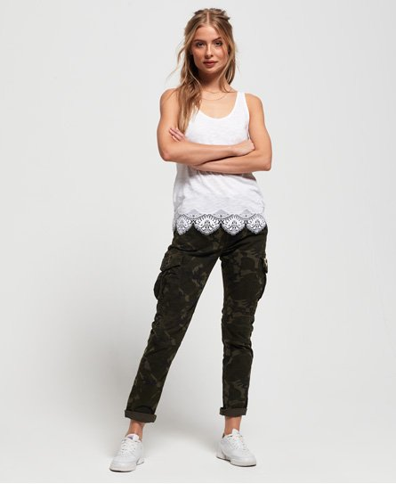 Superdry Pantalon Cargo Girlfriend