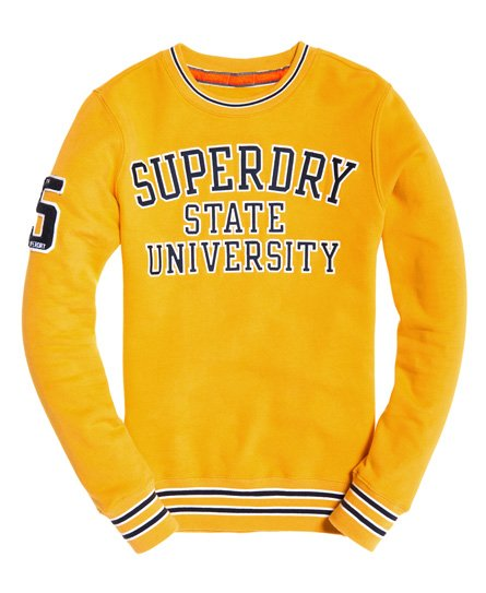 Superdry Academy Tipped Applique Sweatshirt