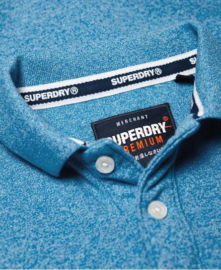 Superdry Polo de piqué clásico