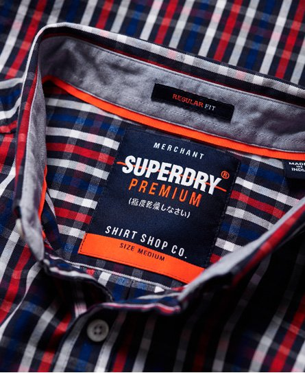 Superdry Premium University Oxford Langarmhemd