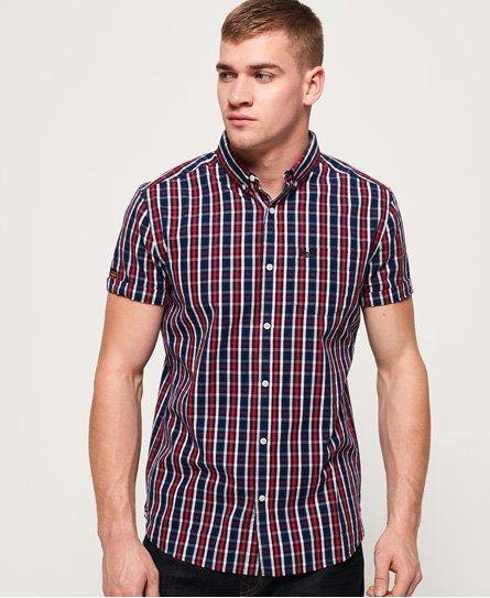 Superdry Camisa de manga corta Premium University Oxford