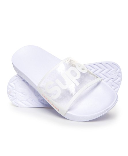 Superdry Sandales de piscine perforées Jelly