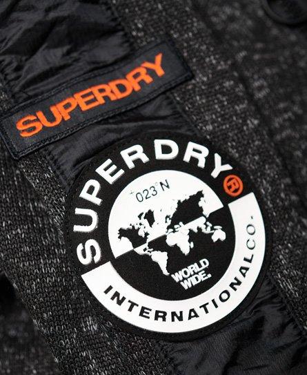 Superdry Sudadera con capucha y cremallera Storm International