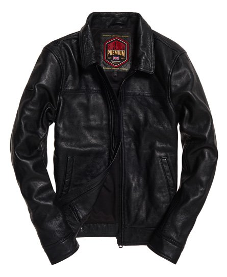 Superdry Curtis Leather Jacket