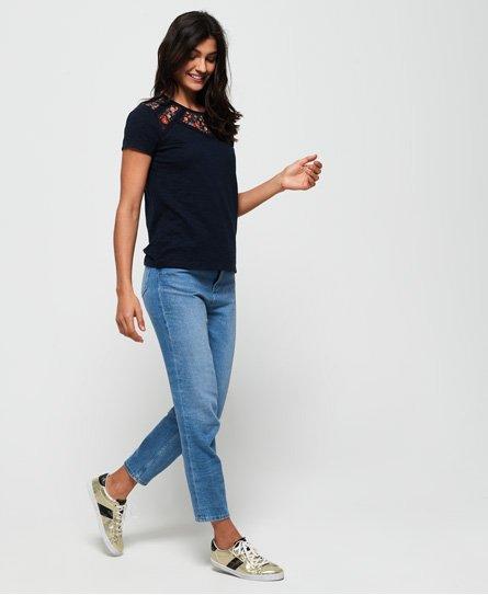 Superdry T-shirt ricamata Whitney