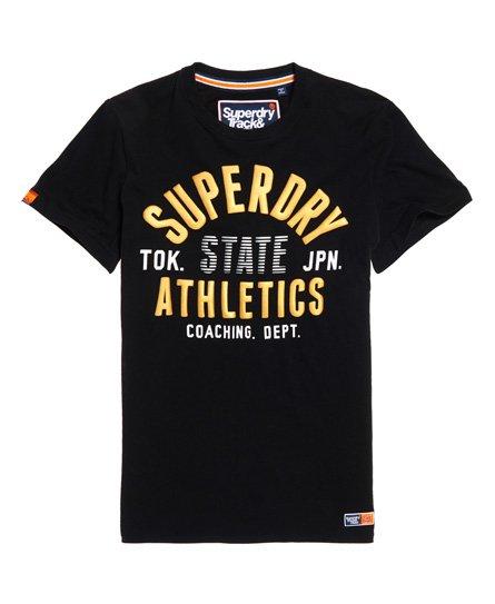 Superdry T-shirt métallisé léger Track & Field