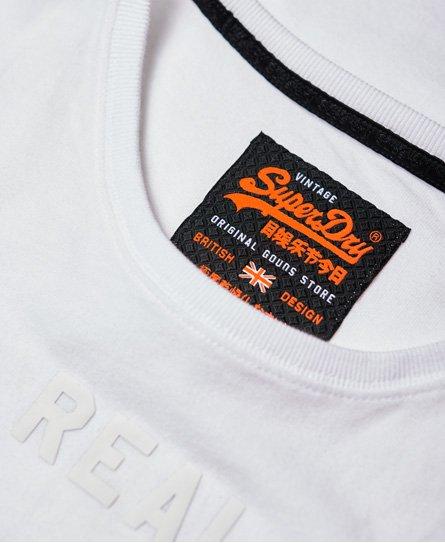 Superdry T-shirt monochrome à logo vintage
