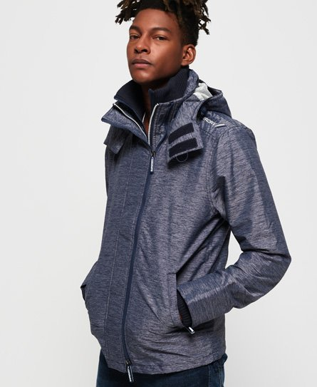 Superdry Technical Hooded Pop Zip SD-Windcheater Jacket